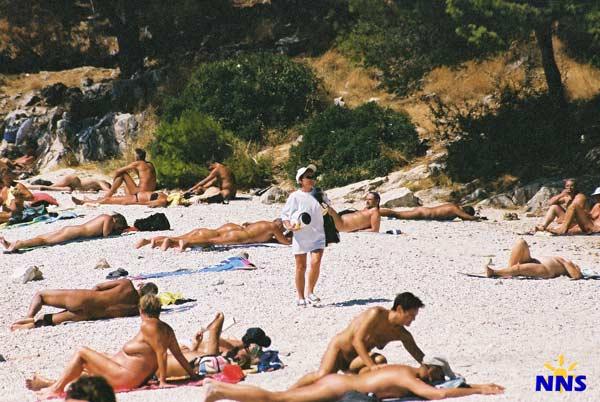 Chorwacji w gołe plaże Chorwacja Plaży